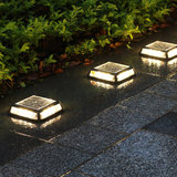 Waterdichte 12 LED Solar Outdoor Ground Light Pathway Lawn Yard Stair Garden Lamp_