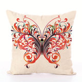 Fairy Tales Flower Style Printed Pillow Cover Butterfly Girls Pillow Case house Bed Hotel Decorative_
