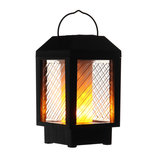 96 LED Solar Flame Flikkerende Lamp Outdoor Landschap Tuin Decor Lantaarn Licht_