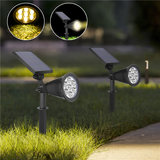 7 LED Solar Powered Waterproof Spotlight Outdoor Lawn Landscape Flood Lamp_