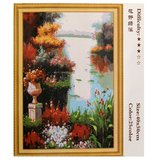 Frameless Modern Large Art Oil Painting Canvas Abstract Scenery Home Decor_