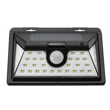 Zonne-energie 34 LED Bewegingsensor Wall Light Waterproof Wide Angle Ourdoor Garden Security Lamp