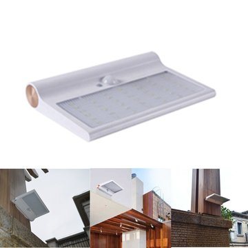 Zonne-energie 42 LED Waterdichte IP65 PIR Bewegingssensor Wall Light Outdoor Garden Security Lamp