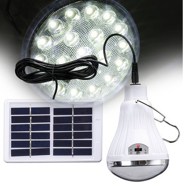 Draagbare Solar Power Afstandsbediening LED Noodverlichting Tentlamp Outdoor Camping Lantaarn