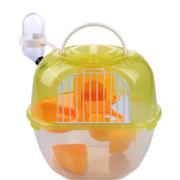 Pet Carring Cage Draagbare Apple-vormige Hamster Cage Double Deluxe Plastic Outdoor Plastic Hamster Cage