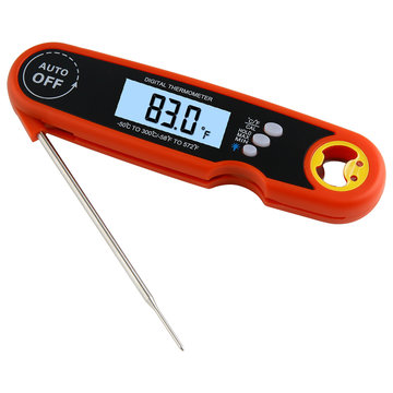 Bakeey Opvouwbare Waterdichte Hoogwaardige Instant Read Digital BBQ Cooking Meat Food Digitale Thermometer