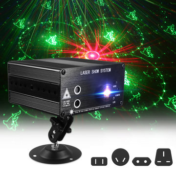 48 Patroon Laserprojector Podium Licht Mini LED Licht RGB Party DJ Disco KTV