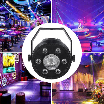 RGB LED Stage Light Bluetooth Audio Auto / Sound Control Show Party Club-verlichting