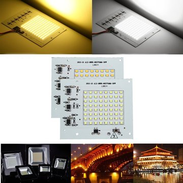 30W SMD2835 Outdoor Smart IC LED COB Chip Bead DIY Floodlight Lamp 220V