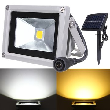 10W Solar Power LED Flood Light Waterdichte Outdoor Landscape Spotlight