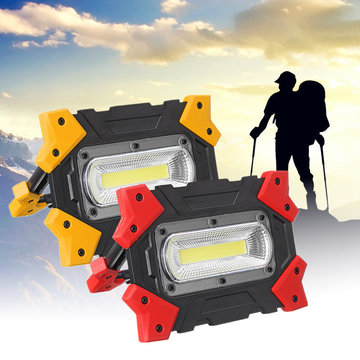 Opvouwbare COB LED werklamp Portable 3 Modes Flood Lamp voor Outdoor Camping Emergency