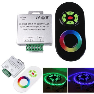 18A Touch Dimmable Remote Wireless RF Controller Voor Led RGB Strip