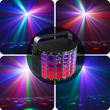 9 kleuren Disco Party Lights Strobe LED Sound Activated Bulb Dance Lamp Decoration