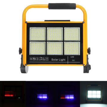 300W LED Solar Flood Light 2835 White Light Flood Tuinlamp voor buiten