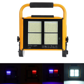 200W LED Solar Flood Light 2835 White Light Flood Tuinlamp voor buiten