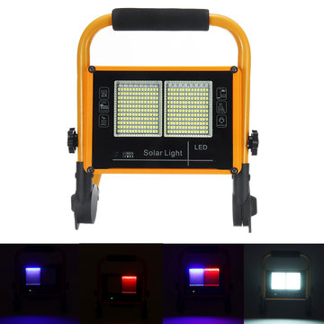 100W LED Solar Flood Light 2835 White Light Flood Buiten Tuinlamp