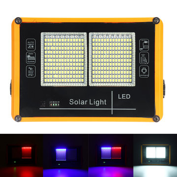 100W LED Solar Flood Light 2835 Wit licht Security Flood Outdoor Garden Lamp