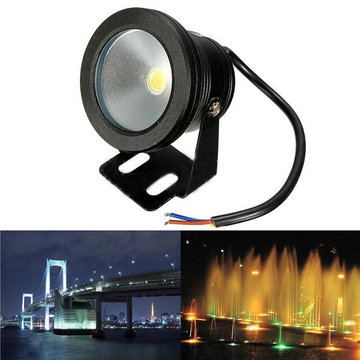 Outdoor 12V onder waterfontein Waterdicht 10W LED Flood Wash Light