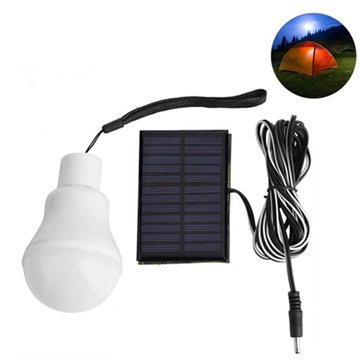 3 W Draagbare Oplaadbare Zonne-energie 12 LED Lamp Licht Outdoor Camping Yard Noodverlichting Lamp