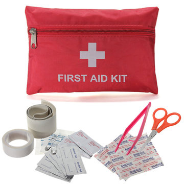 Emergency First Aid Kit Bag Pack Reis Sport Overleving