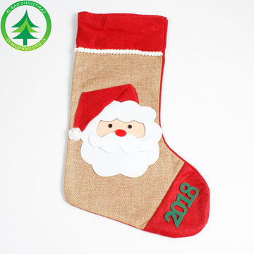 Christmas Hand-Sokken Creative Handtas Christmas Handicraft Colorful