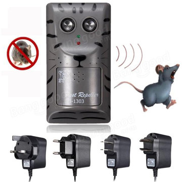 Elektronische Ultrasone Pest Rat Muis Insect Knaagdieren Control Repeller Anti Mole Killer Trap Bug Chaser