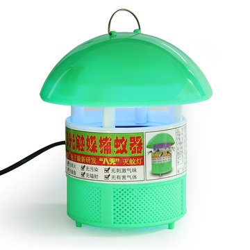 Efficiënte Photocatalyst Mosquito Repellent Catcher Trap LED Lamp