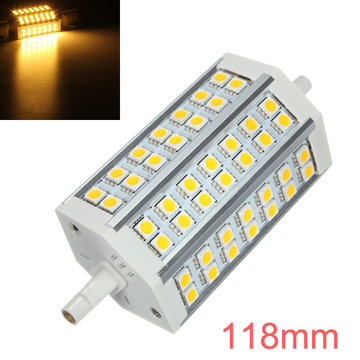 R7S LED Bulb 10W 118mm Warm White AC 85-265V 42 SMD 5050 Corn Light