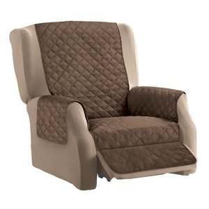 Kcasa Kc Pcp1 Reversible Quilted Furniture Beschermhoesje Solid Color Recliner Sofa Cover Home Decor