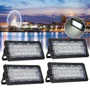 70W 76 LED Flood Light Spot Outdoor Lamp Waterproof Garden Landscape Light